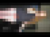 キャンギャルのローアングル撮影。見せパン パンチラ 網タイツ