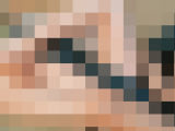 スレンダー美女のスローローション足コキ動画