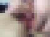 【無修正】透明マン汁が溢れ出すオナニー
